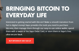 xapo bitcoin cryptocurrency wallet